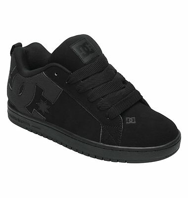 DC Men's Court Graffik 300529 3BK Skateboard Shoes