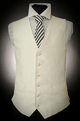 W - 506  Gold/ Ivory Baroque Pattern Formal Occasion Waistcoat Weddings