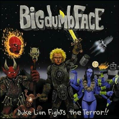 BIG DUMB FACE - DUKE LION FIGHTS THE TERROR (New Sealed) CD Reissue Limo Bizkit