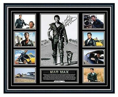 Mad Max Mel Gibson Signed Limited Edition Framed Memorabilia