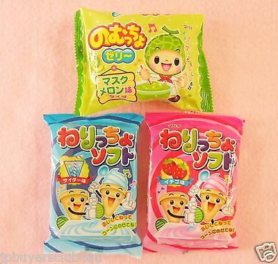 Japanese Candy Making Kits / 3 candies / Mini Ice Cream candy, Green Slime Candy