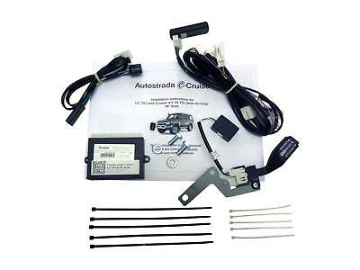 OEM Style Cruise Control Kit Plug & Play for Landcruiser VDJ 2007 on with Airbag