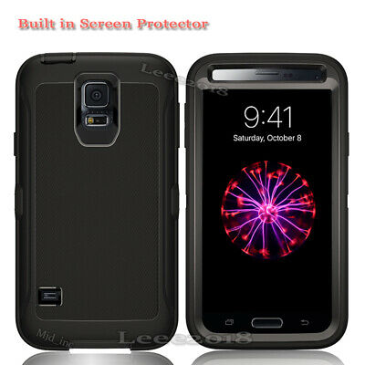 Samsung Galaxy S5 Defender Case With Screen Protector Fits Otter box