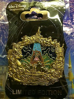 WDI SPLASH MOUNTAIN Stained Glass LE 300 pin