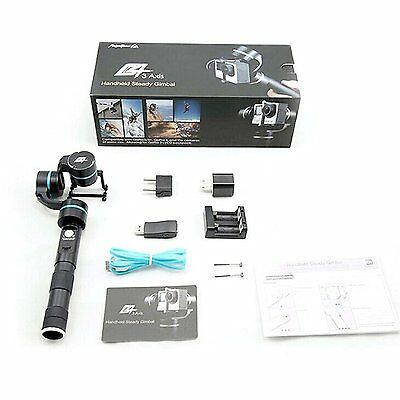 Feiyu FY-G4 Ultra 3-Axis Handheld Gimbal Stabilizer for Gopro / Action Cameras