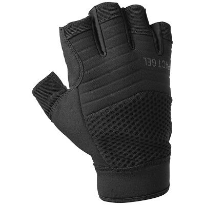 Military Airsoft Patrol Hfg Fingerless Tactical Army Combat Gloves Helikon Black