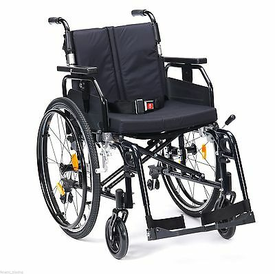 Enigma Super Deluxe 2 Lightweight Aluminium Folding Self propel Wheelchair