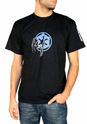 STAR WARS - T-shirt basic homme Empire Tie Fighter Taille M
