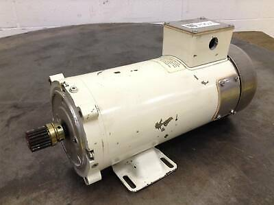 Leeson Electric Co DC Permanent Magnet Motor C4D17WK1G Used #70077