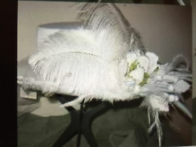 Bridal Victorian Ladies Old Western Era Touring Hat Stagecoach Country-Costume