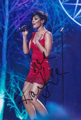 Frankie Sandford Hand Signed 6X4 Photo The Saturdays 5.
