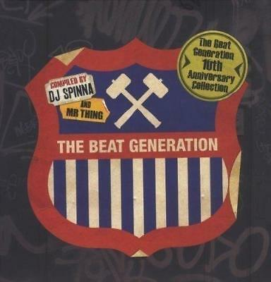 THE BEAT GENERATION 10th ANNIVERSARY Compiled By DJ Spinna & Mr Thing 2xVinyl LP
