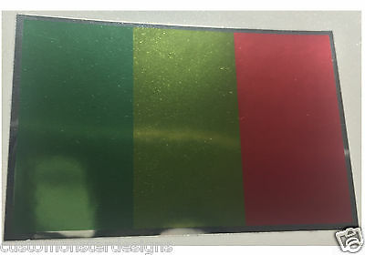 MALI FLAG Decal Vinyl Sticker chrome or white vinyl decal and 15 sizes!