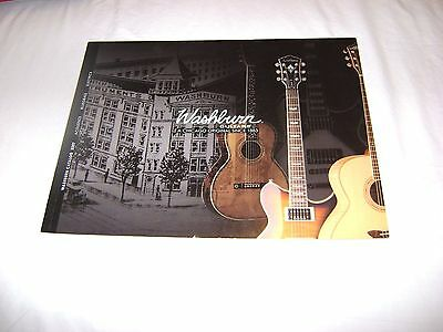 2007 WASHBURN Guitars Complete Catalog New Electric Acoustic