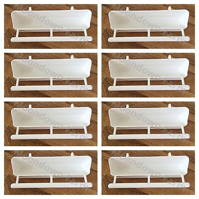 10 x 17.5cm Cage Feeder With Perch & Hooks For  Finch / Budgie / Canary