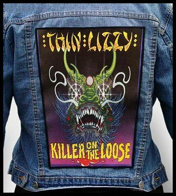 THIN LIZZY - Killer On The Loose  --- Giant Backpatch Back Patch / Whitesnake