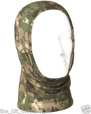 British Army style multi-function headover / neck warmer like MTP / Multicam
