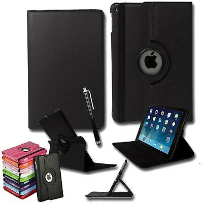 Smart Leather 360° Degree Rotating Smart Stand Case Cover iPad Air II - 2nd Gen
