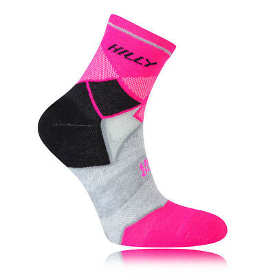Hilly Photon Night Womens Black Pink Coolmax Anklet Running Sports Socks