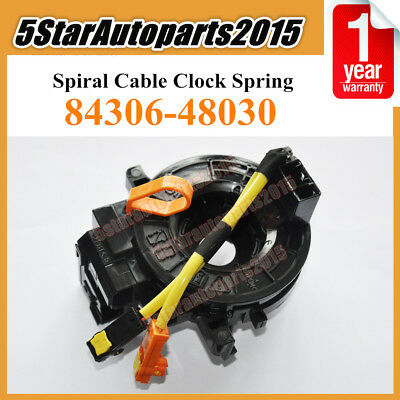 Spiral Cable Clock Spring 84306-48030 for Toyota Camry Land Cruiser Scion Lexus