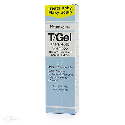 New Neutrogena T/Gel Therapeutic Shampoo 250ml