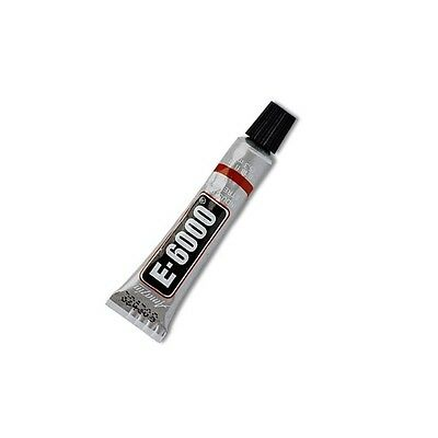 Industrial Strength E6000 Clear Glue - 4 Tube Sizes Available - Includes Nozzle