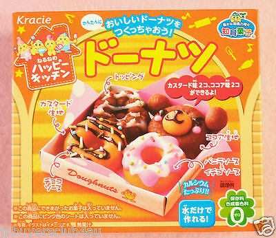 Kracie DONUT JAPANESE CANDY MAKING KIT, popin cookin happy kitchen