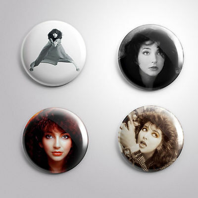 4 KATE BUSH - Pinbacks Badge Button 25mm 1''