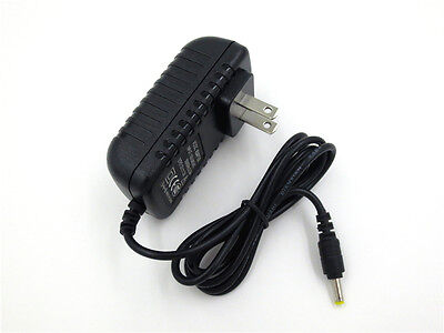 12V AC/DC Wall Power Charger Adapter For Sylvania Portable DVD Player SDVD7014 B