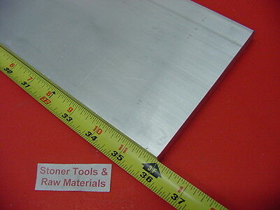 "3/4"" X 8"" ALUMINUM 6061 SOLID FLAT BAR 36"" long T6511 .750"" Plate Mill Stock"