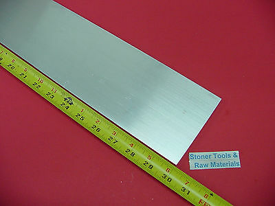 "3/8"" X 4"" ALUMINUM 6061 FLAT BAR 30"" Long T6511 Solid .375"" New Plate Mill Stock"