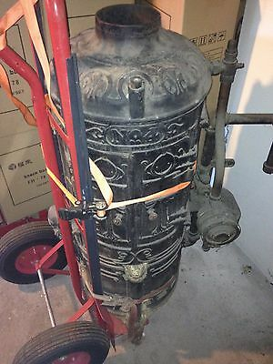 Antique Ruud Tankless Water Heater 1907's