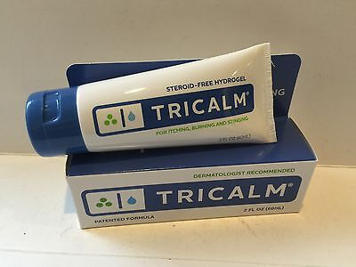 TRICALM Steroid Free Hydrogel for Itching Burning Stinging 2 oz EXP: 7/2017