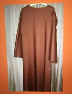 "Nativity Shepherd Jesus Biblical Religious  Costume- Brown 46"" Chest-New"