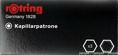 Rotring Ink Black Rapidograph Cartridge 1 Pack