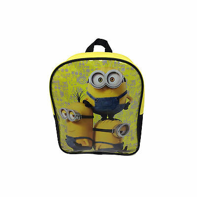 Childrens Boys & Girls School Zip Backpack Bag Despicable Me Minions 3205029Hv