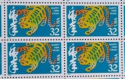 CHINESE NEW YEAR*YEAR OF THE TIGER*Scott #3179*MNH*Sheet of 20 x .32