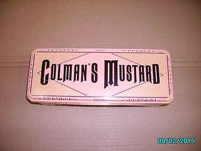 Colman's Vintage Mustard Tin 1990 Durkee-French Foods Free Shipping