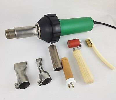 1600W Professional Heat Gun Hot Air Torch Plastic Welding Gun Welder Pistol