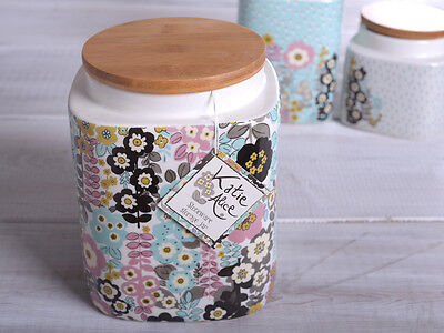 KATIE ALICE Pretty Retro LARGE CERAMIC KITCHEN STORAGE JAR