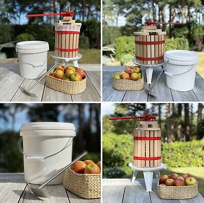 Fruit & Apple Press, Cider Press, 6, 12 and 18 Litre with FREE Straining Bags