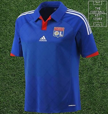 Lyon Away Shirt - Official Adidas Olympique Lyonnais Football Top - All Sizes