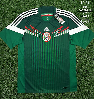 Mexico Home Shirt - Official Adidas Mexican Football Jersey - All Sizes