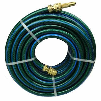 30M Premium Durable Garden Water Hose 18MM with Ryset Brass Fittings KINK FREE
