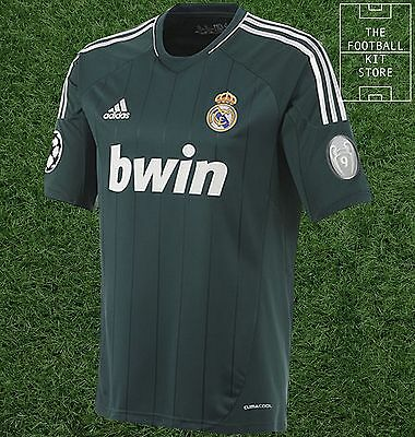 Real Madrid Third Shirt - Genuine Adidas Jersey - Champions League - All Sizes