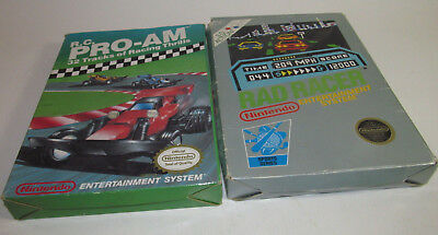 Rad Racer Nintendo NES 1987 Complete CIB w/ 3D Glasses Near Mint Fun Racing Game