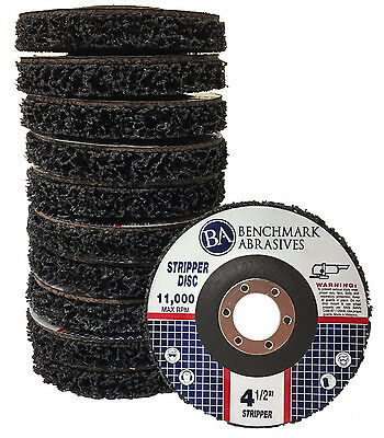 "4-1/2""x7/8 Paint & Rust / Easy Strip & Clean Disc (10)"