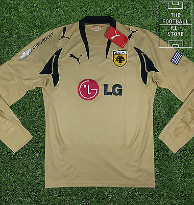 AEK Athens Goalkeeper Shirt - Official Puma Football Shirt - All Sizes
