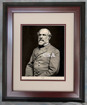 General Robert E. Lee, Signed • Early March 1864 • FRAMED