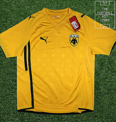 AEK Athens Home Shirt - Official Puma Football Jersey - All Sizes